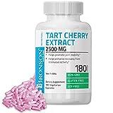 extract of soy - Bronson Tart Cherry Extract 2500 mg Premium Non-GMO Gluten Free Soy Free Formula, 180 Vegetarian Capsules