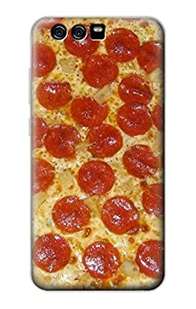 Amazon.com: r0236 Pizza Funda Carcasa para Huawei P10 Plus ...