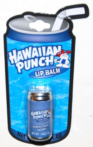 Hawaiian Punch Bodacious Berry Flavored Lip Balm in a Can (1 Each)
