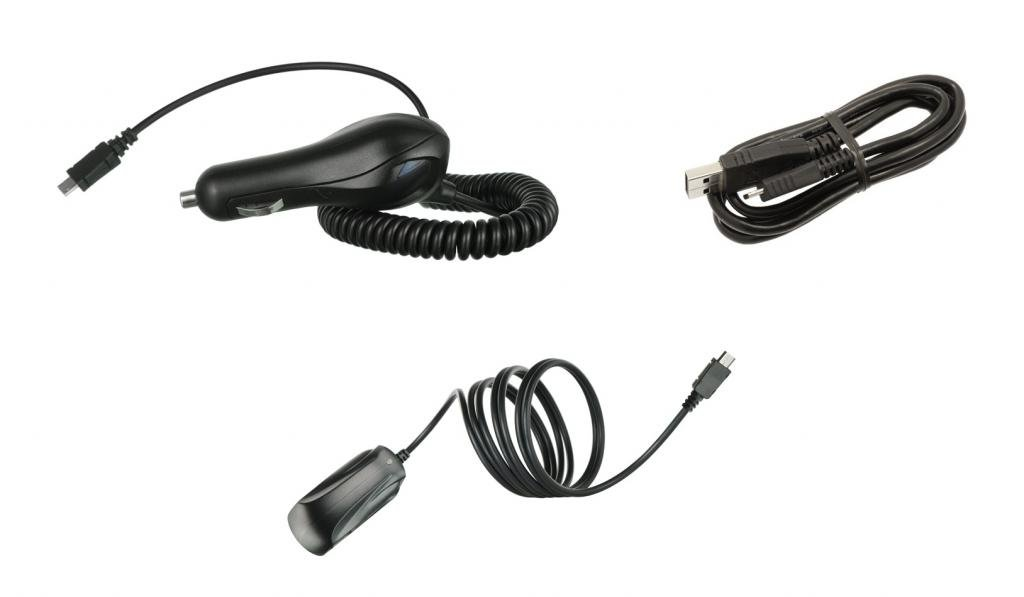LG Exalt LTE - Charger Bundle: 2.1A Car Charger, 850 mAh Wall Charger, 2.0 Micro USB Cable and Atom LED by ATOM