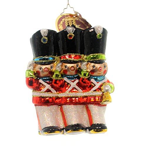 - Christopher Radko Merry Marchers Nutcrackers Guard Christmas Ornament
