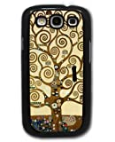 Tree of Life by Gustav Klimt - Samsung Galaxy S3 Cover, Cell Phone Case - Black