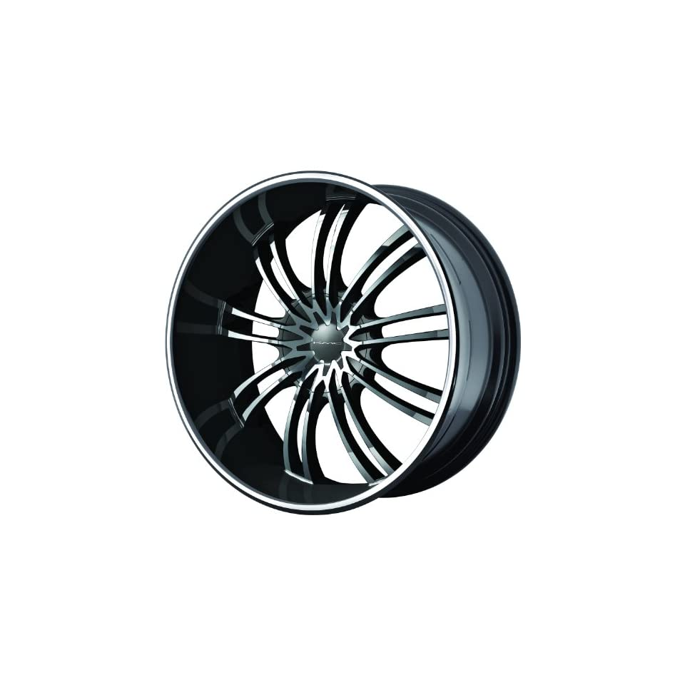 KMC KM682 24 Black Wheel / Rim 6x135 & 6x5.5 with a 35mm Offset and a 100.5 Hub Bore. Partnumber KM68224966335 Automotive