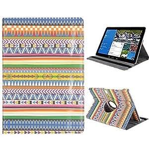 MOFY- 360 de rotaci—n de la correa el‡stica reposar del sue–o auto / despierta el caso de cuero para Samsung Galaxy Note 12.2 pro p900