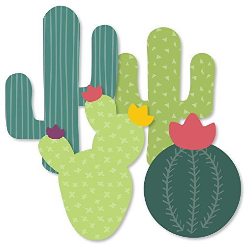 Prickly Cactus Party  Cactus Decorations DIY Fiesta Party Essentials  Set of 20