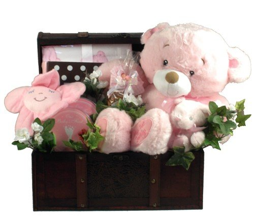 Gift Basket Drop Shipping ItAGiTr Its A Girl, Deluxe Trunk