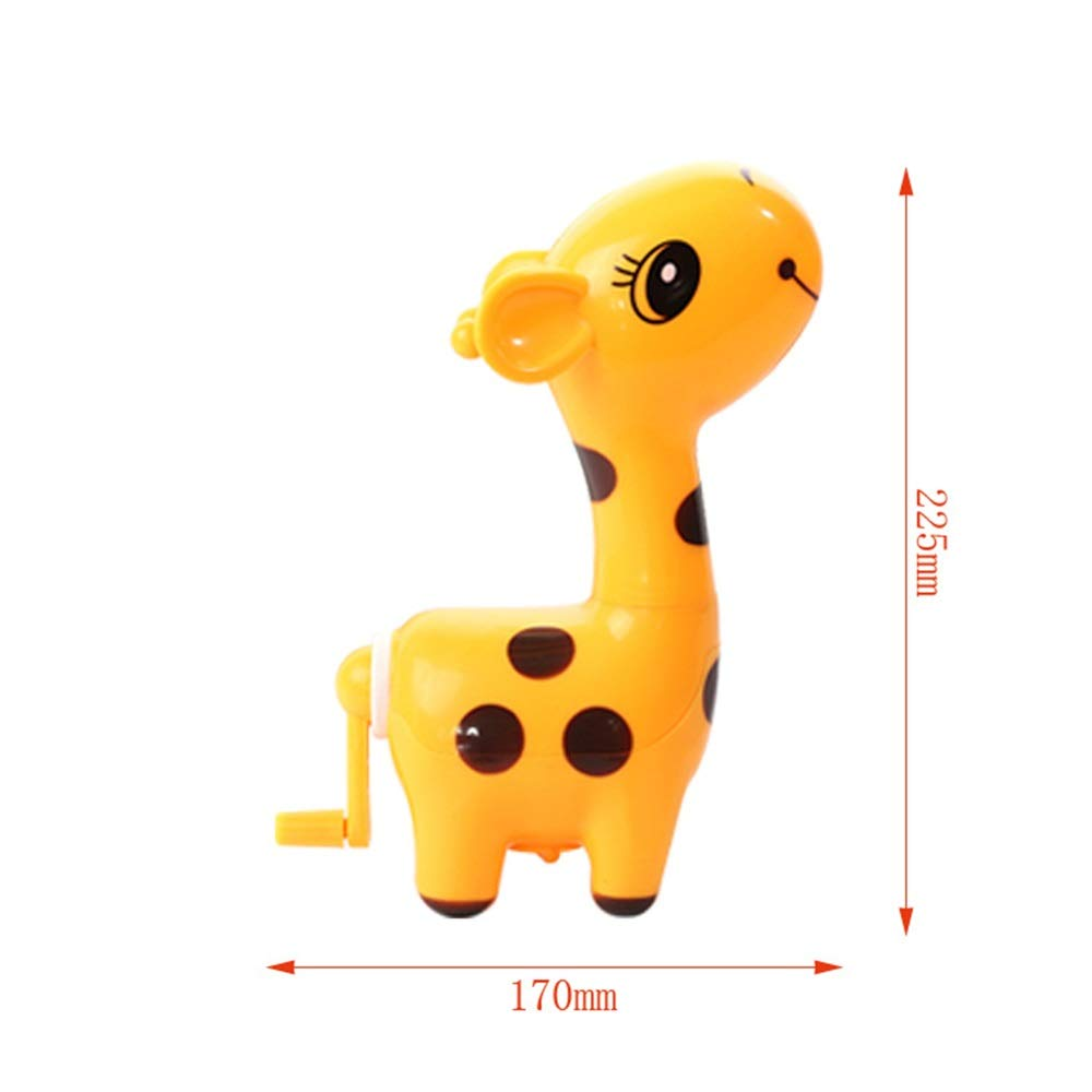Yiping Brand New and 1Pc Giraffe Shape Single Hole Hand Crank Pencil Sharpener School Stationery(Random Color)