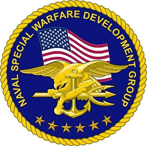 US Navy United States Navy Seal Team 6 Devgru Military Veteran Served Window Bumper Sticker Vinyl Decal 3.8