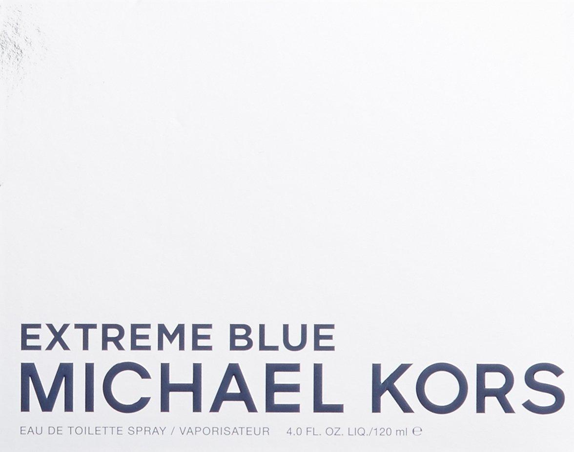 Michael Kors Extreme Blue Eau de Toilette Spray for Men, 4 Ounce