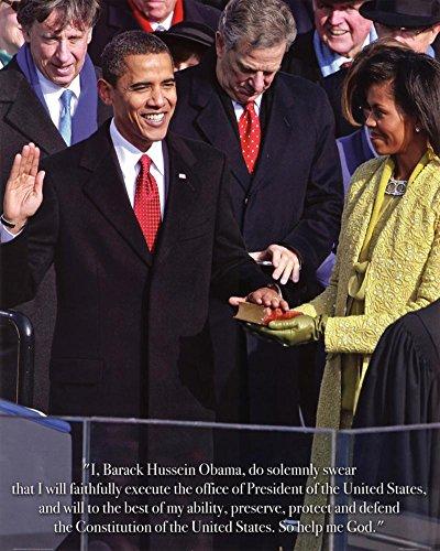 Laminated President Barack Obama Inauguration Art Print Poster Mini