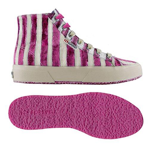 Sneaker 2795 a Linstripesw Off Alto Collo dahlia Superga Donna White A6wqZZ