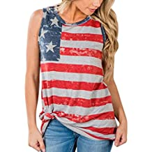 Mikey Store 2018 Clearance Women Blouse The National Flag Print Lace Insert Tank Tops