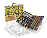 Toys : Crayola Despicable Me Inspiration Art Case, 140 Pieces, Minions, Art Set, Ages 6, 7, 8, 9, 10