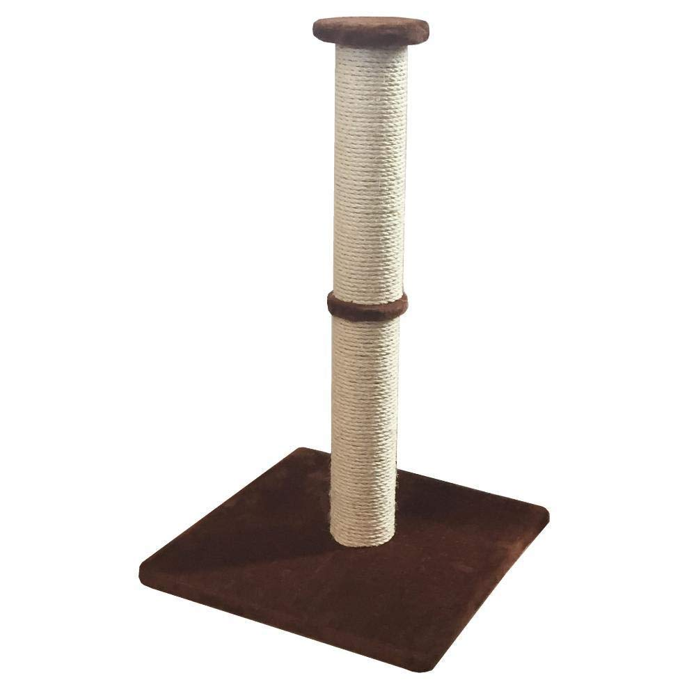 C Cat Furniture Play Towers and Trees Cat Play Towers Cat Scratch Stud PET Toy 46  46  72cm Plate Hemp Flannel (color   C)