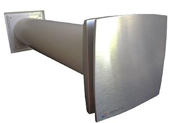 Mauerkasten Set Mit Lufter Ventilator Abluftrohr Aussengitter