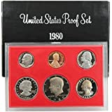 1980 S US Proof Set Original Government Packaging