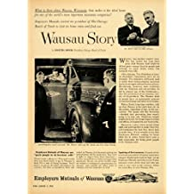 1954 Ad Employers Mutual Insurance Wausau Story Abrams - Original Print Ad