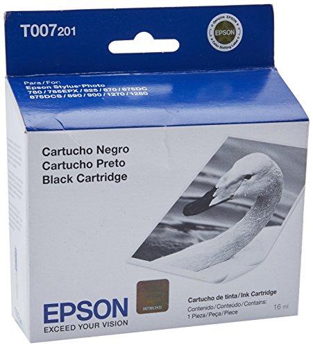 (Epson T007201 Inkjet Cartridge -Black)