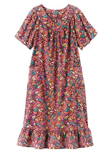 AmeriMark Print Sundress Plus - Dress Cotton Woven