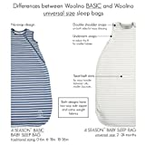 Woolino Baby Sleeping Bag - 4 Season Basic Merino