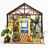 Rolife Miniature Dollhouse Wooden DIY House Kit Birthday Gift (Kathy's Green House)