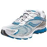 Saucony Women's ProGrid Triumph 7 Running Shoe,White/Blue,9 W