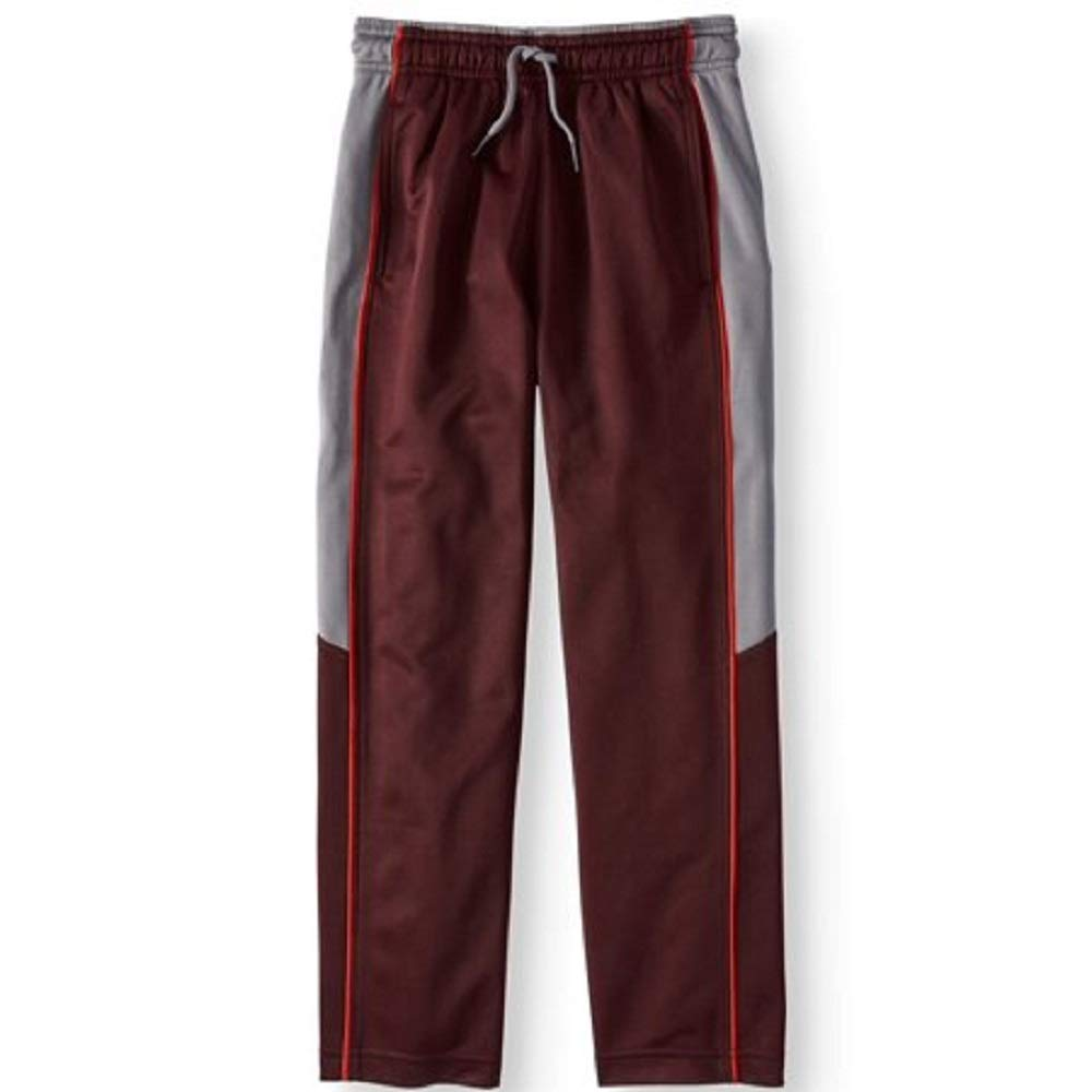 18 Athletic Works Active Tricot Pants New Boys Size XXL//2XG Polyester Windsor Wine