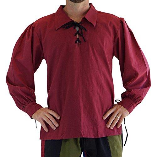 'Merchant' Renaissance Festival Costume Shirt, Pirate, Steampunk -