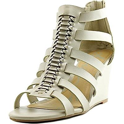 American Rag Amelia Women Open Toe Synthetic Gray Wedge Sandal
