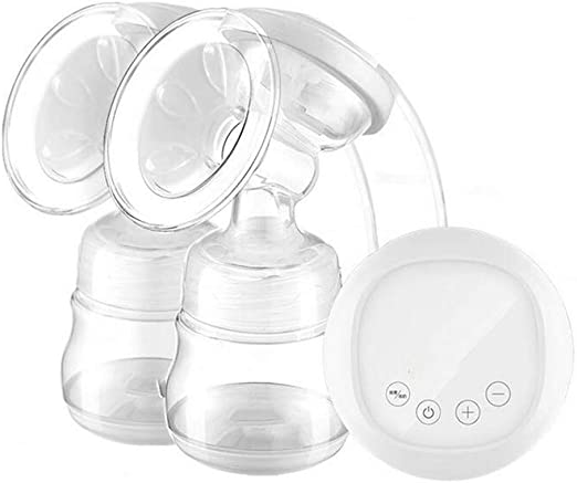 12-Speed Suction Freely Adjustable Milk Pump//One Bottle Multi-Purpose ZSDGY Bilateral Electric Breast Pump//Automatic Massage Breast Pump