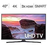 Samsung Electronics UN40MU630D 40 Inch 4K Ultra HD (UHD) Smart LED TV