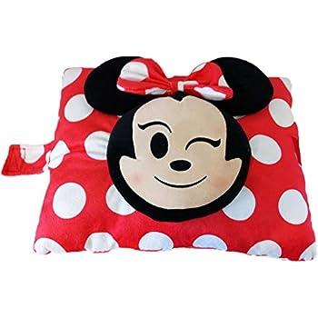 disney minnie mouse emoji pillow pet super soft stuffed plush pillow toys games. Black Bedroom Furniture Sets. Home Design Ideas