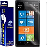 nokia lumia 900 screen protector - ArmorSuit Nokia Lumia 900 Screen Protector [Max Coverage] MilitaryShield Anti-Bubble Screen Protector For Nokia Lumia 900 - HD Clear