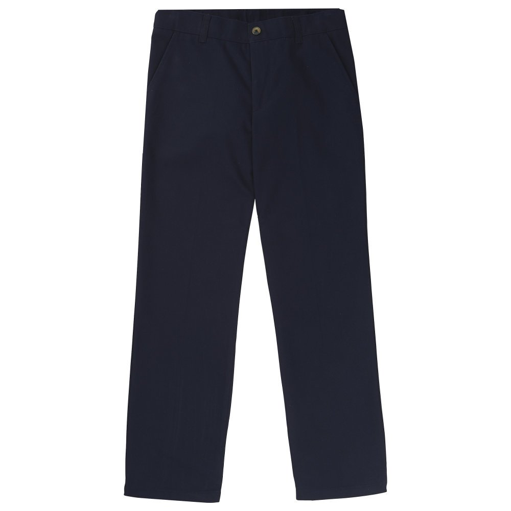 French Toast Boys' Straight Leg Twill Pant SK9473