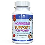 MENOPAUSE & HORMONE SUPPORT FOR WOMEN SUPPLEMENT - Helps with Hot Flushes, Mood Swings, Night Sweats, Menstrual & more