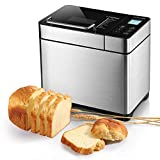Best Bread Makers - Albohes Bread Maker, 2.2LB Stainless Steel Bread Machine Review