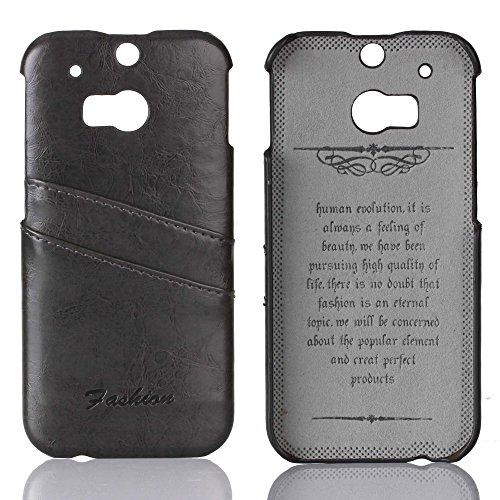 TPU Silicone Back Case for HTC ONE M8 (Black) - 3