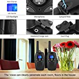 Wishouse FRS GMRS Walkie Talkies for Adults - UHF