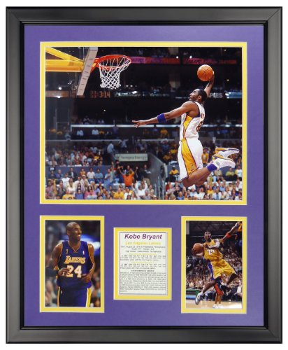 Legends Never Die Kobe Bryant - Dunk Framed Photo Collage, 16