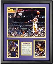 "Legends Never Die Kobe Bryant - Dunk Framed Photo Collage, 16"""