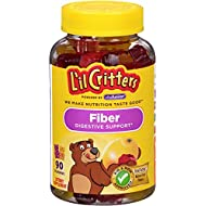 L'il Critters Fiber Gummy Bears, 90 Count (Packaging May Vary)
