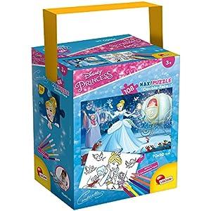 Lisciani Giochi Cinderella Puzzle In A Tub Maxi 108 Disney 659360
