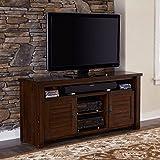 Progressive Furniture Trestle Wood 64'' Media Console
