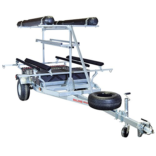 Malone Auto Racks 2 boat ultimate angler trailer package - Hobie (19' Wheel And Tire Packages)