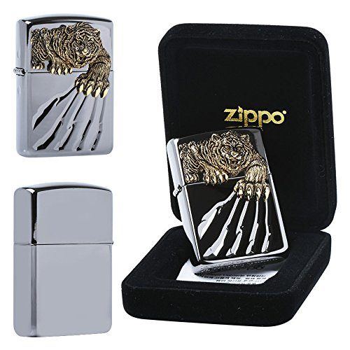 Zippo A TIGER CLAW BK Lighters GENUINE and ORIGINAL Packing