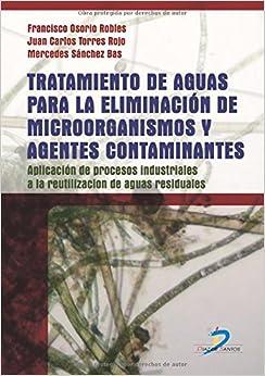 Book Tratamiento de aguas para la eliminación de microorganismos y agentes contaminantes.