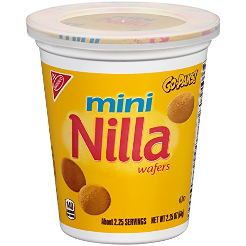 Nilla Wafer Mini Cookies - Go-Pak, 2.25 Ounce, (Pack of 12) ()