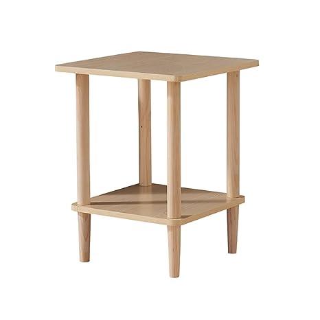 Amazon.com: NUBAO - Mueble auxiliar para sofá de madera ...