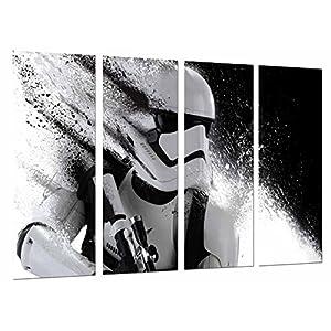 Cuadro Fotográfico Star Wars, Casco Ejercito Darth Vader Tamaño total: 131 x 62 cm XXL 3