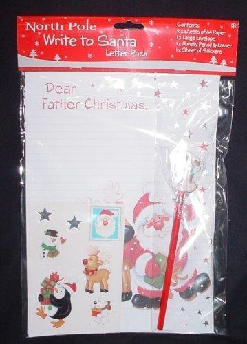 Papel para escribir carta a Papá Noel (formato C1): Amazon ...
